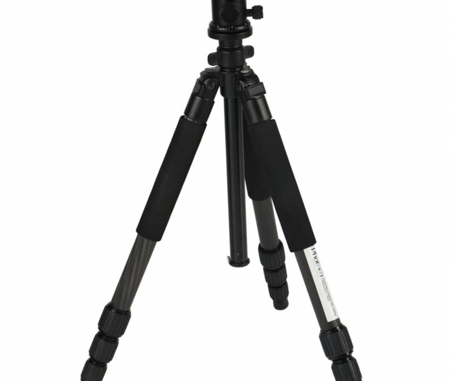 Photron Stedy Pro 990c And Pbh06 Carbon Fibre Light Weight Tripod With 360 Degree Ball Head With Tripod Case Included
