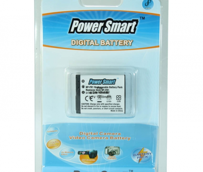 Power Smart 1220mah Replacement Battery For Sony Np-fr1