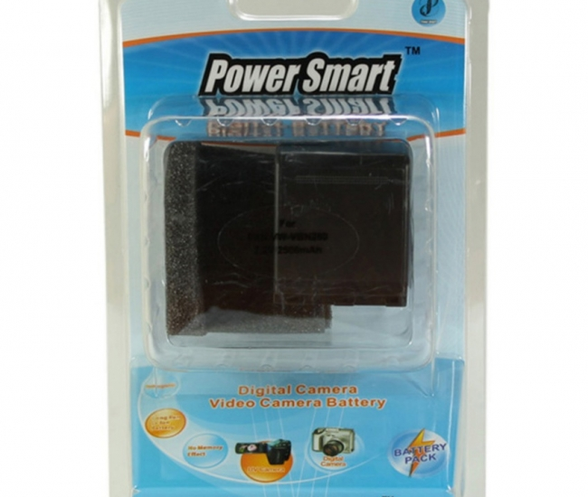 Power Smart 2500mah Replacement For Panasonic Vw-vbn260 - Black