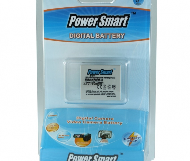Power Smart 750mah Replacement Battery For Fuji Np-40 - White