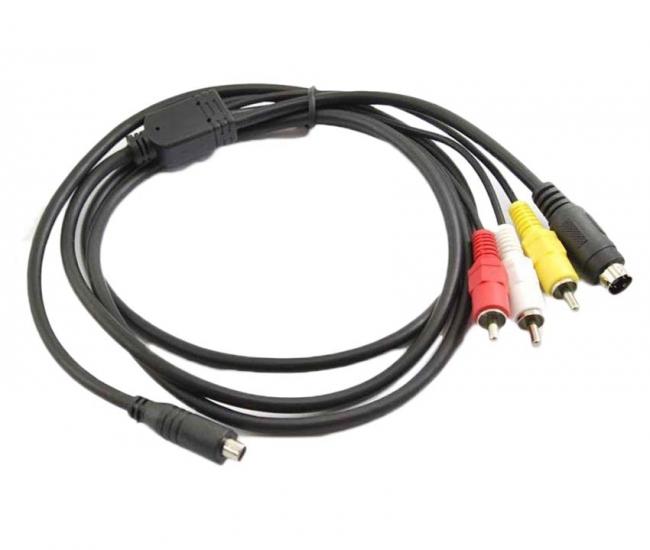 Power Smart Av Tv Cord For Sony Handycam Camcorder Dsc-sr68e Hdr Cx110e Dcr Sx63 Dvi