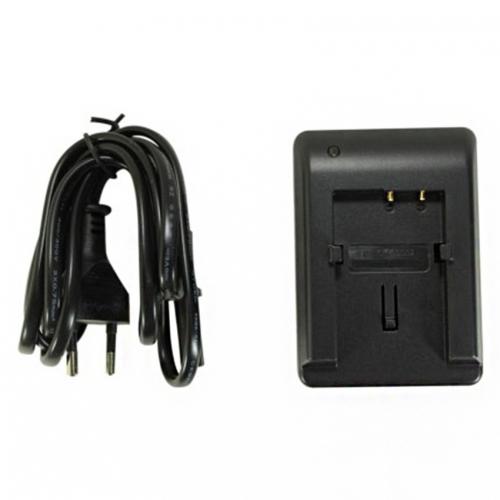 Power Smart Battery Charger For Sny Np-f970 Digi Camcorder - Black