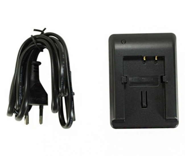 Power Smart Battery Charger For Sny Np-f970 Digi Camcorder - Black