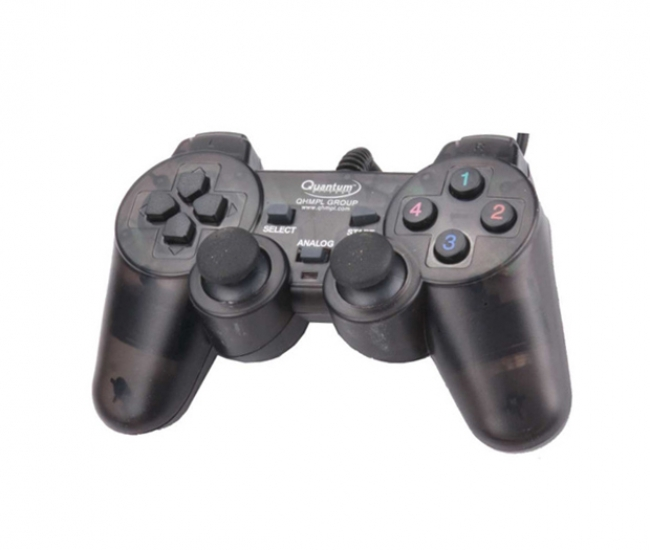 Quantum QHM7468-2V USB Game Pad with Shock Function