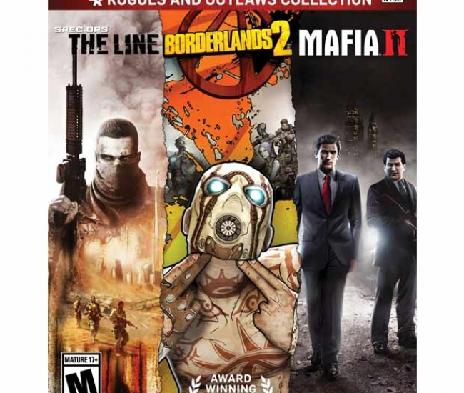 Rogues And Outlaws Collection - Spec Ops: The Line/borderlands 2/mafia Ii - Ps3
