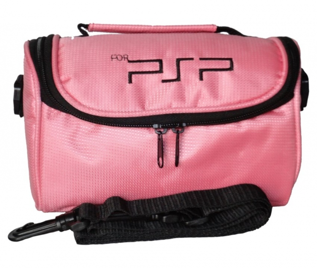 Sg Multi Function Carry Bag For Psp - Pink