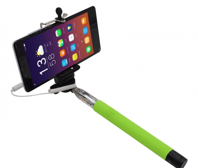 Selfie Stick Green Monopods Shooting Accessories