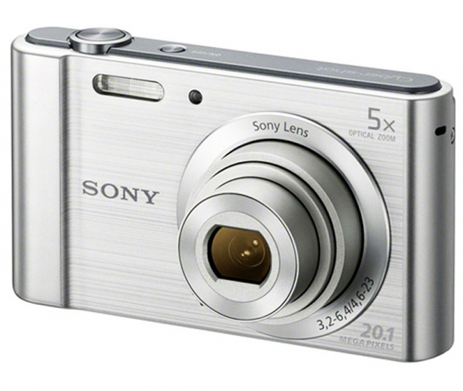 Sony 20.1 MP DSC-W800/S Cyber-shot (Silver)