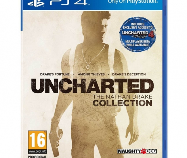 Sony Computer Entertainment Uncharted - The Nathan Drake Collection For Ps4