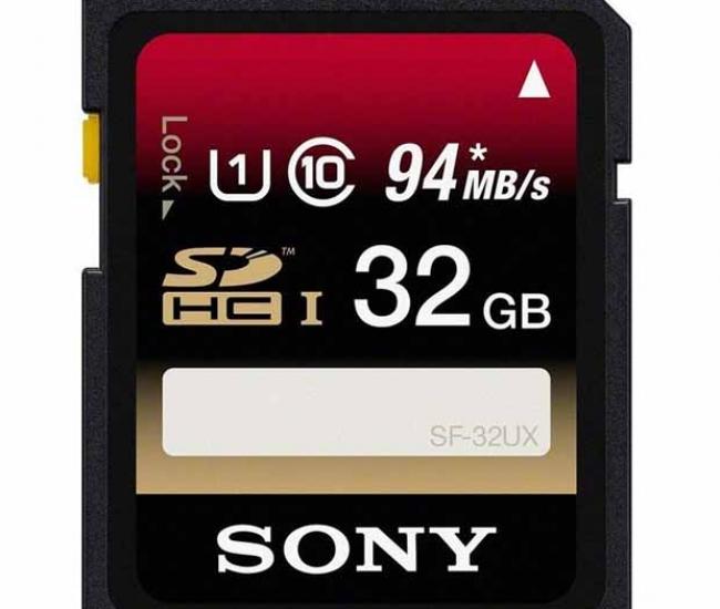 Sony Sdhc 32 Gb Class 10