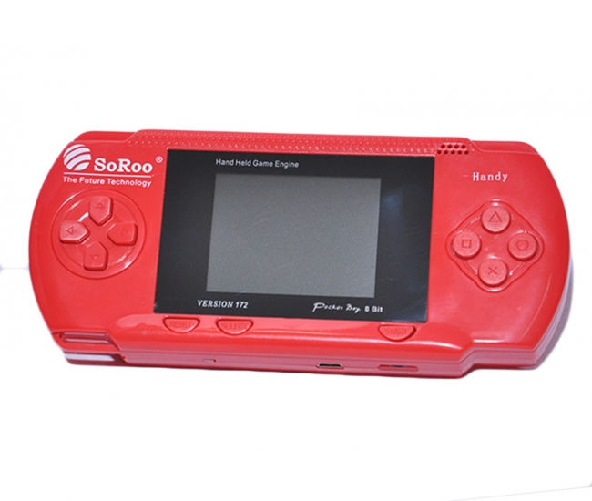 Soroo 8 Bit Psp With Game Cassette (version 172)