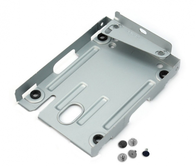 Storite Hard Disk Mounting Bracket For Ps3 Super Slim Consoles - White