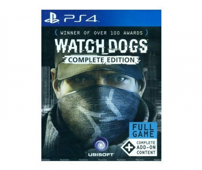 Ubisoft Watch Dogs Complete Edition Ps4