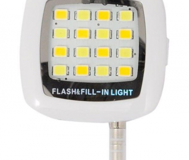 Universal Rechargeable Mobile Camera Flash Light