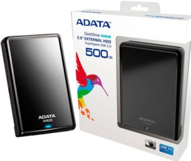Adata 500 GB Wired External Hard Disk Drive