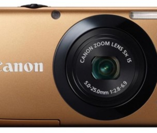 Canon PowerShot A3400 IS Point & Shoot Camera