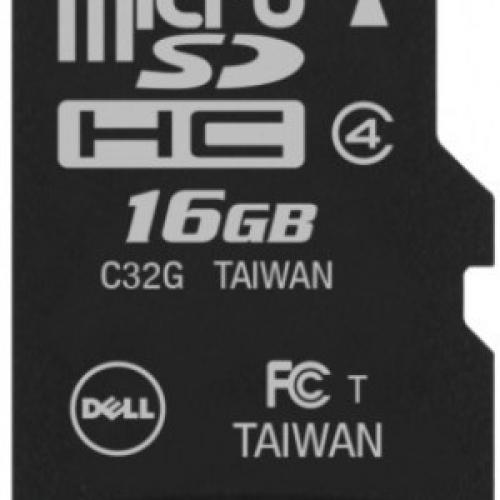 Dell 16 GB MicroSDHC Class 4  Memory Card