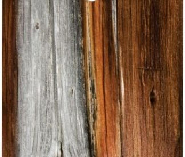 DezignInk Silver Wood Moto G 2013 Mobile Skin