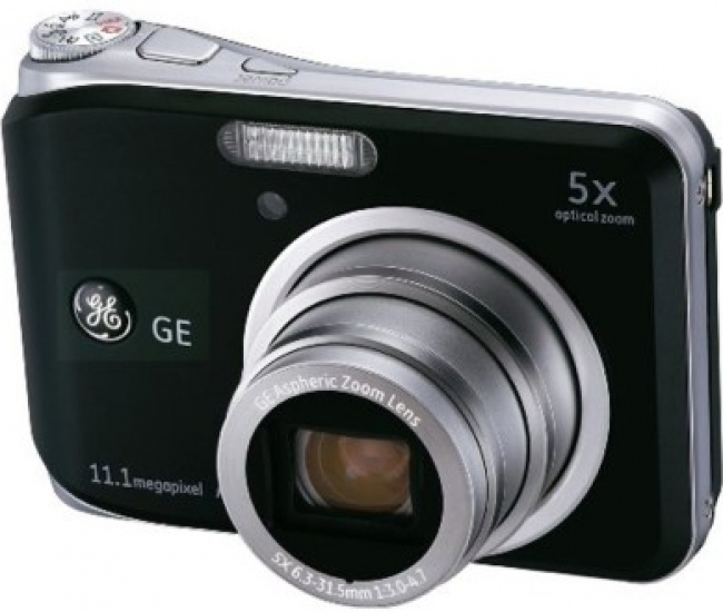 GE Digital A1150 Black 6.3 - 31.5mm Point & Shoot Camera