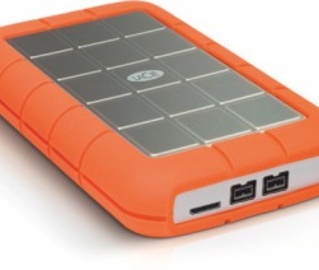 LaCie Rugged Triple (7200 RPM) USB 3.0 500 GB External Hard Disk Drive