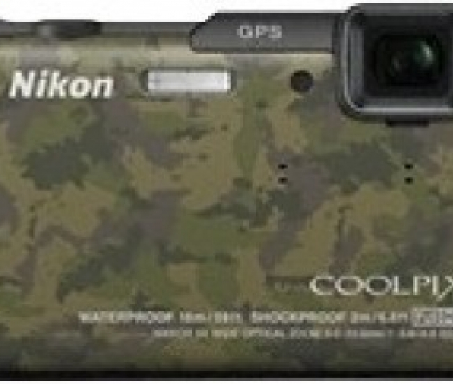 Nikon Coolpix AW110 Waterproof Point & Shoot Camera