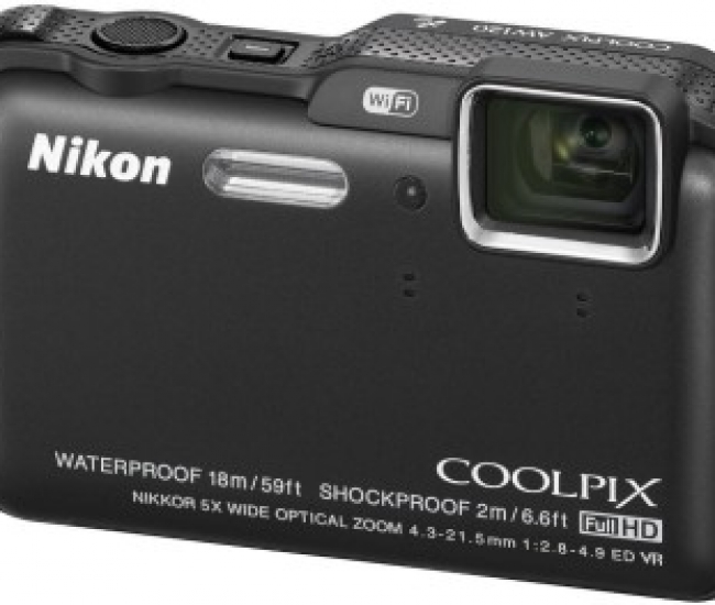 Nikon Coolpix AW120 Point & Shoot Camera