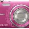Nikon Coolpix S3500 Point & Shoot Camera