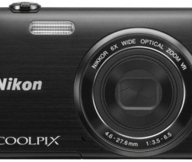 Nikon Coolpix S5200 Point & Shoot Camera