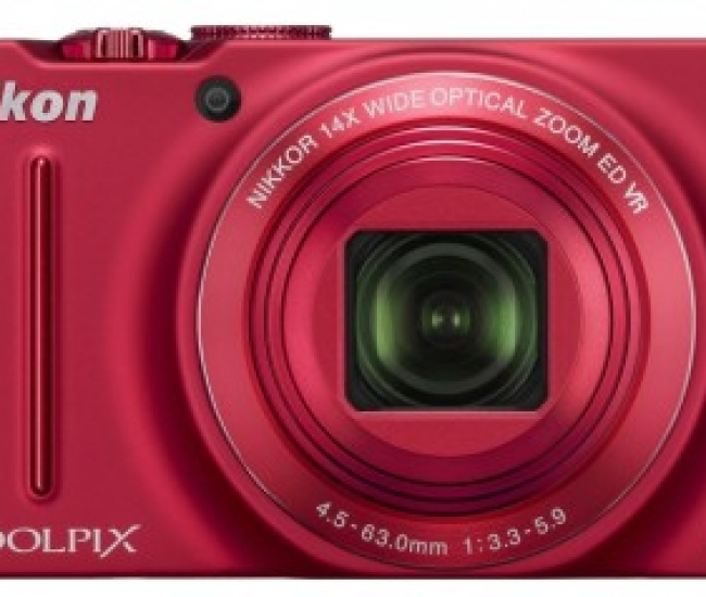 Nikon Coolpix S8200 Point & Shoot Camera