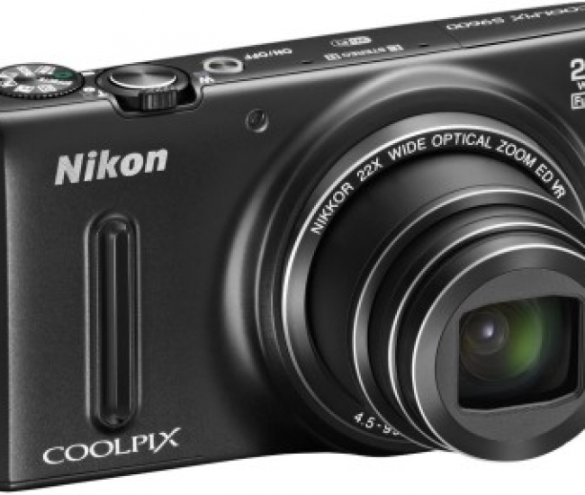 Nikon Coolpix S9600 Point & Shoot Camera