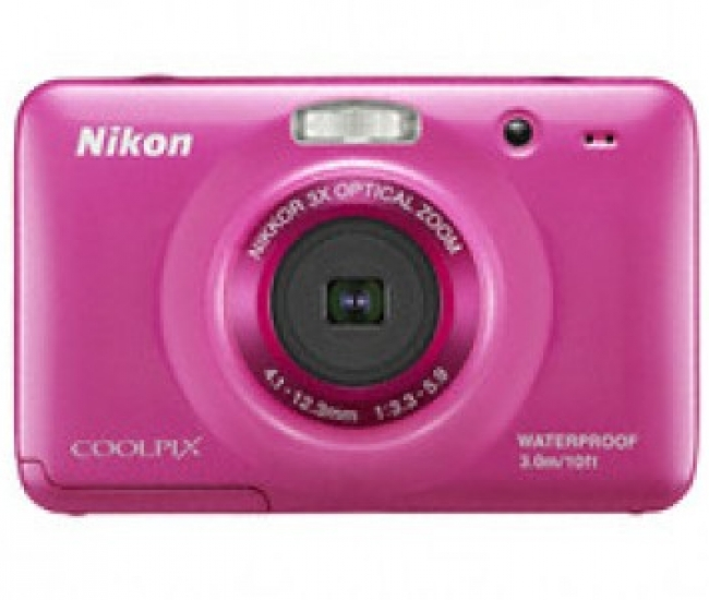 Nikon Coolpix S30 Point & Shoot Camera