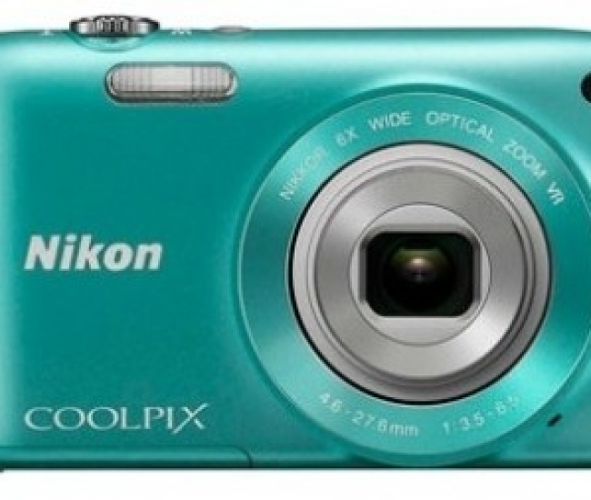 Nikon Coolpix S3300 Point & Shoot Camera