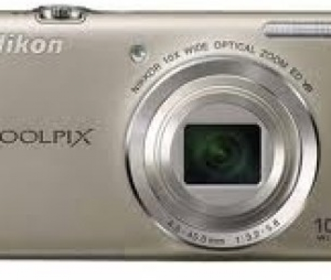 Nikon S6200 Point & Shoot Camera
