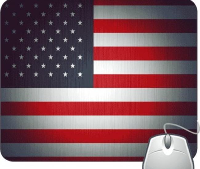 Pinaki America Flag Mousepad