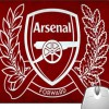 Pinaki Arsenal Mousepad