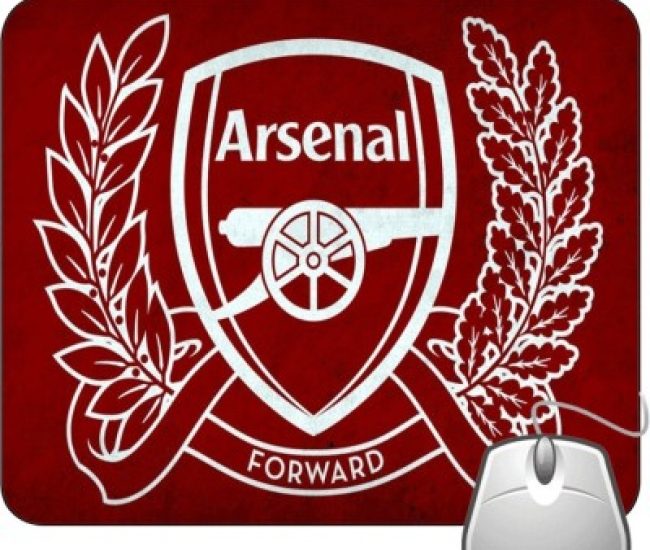 Pinaki Arsenal Mousepad