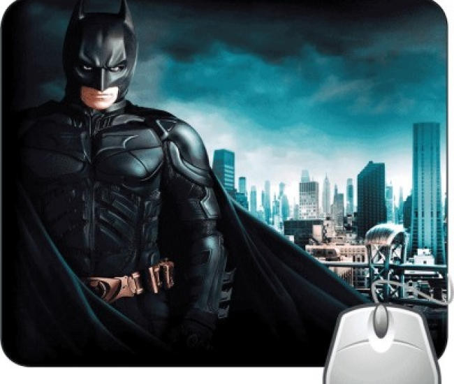 Pinaki Bat Man Mousepad