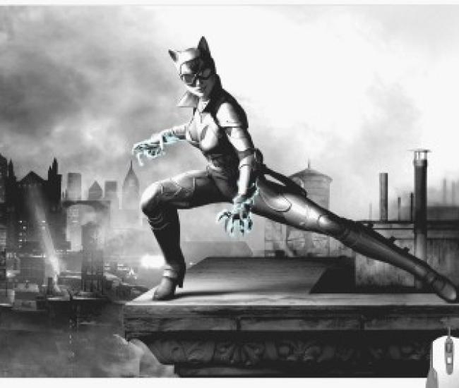 Pinaki Batman Arkham City Riddler Gaming Mousepad