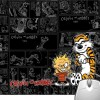 Pinaki Calvin and Hobbes Mousepad