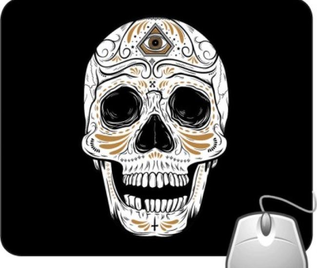 Pinaki Cool Skull Mousepad