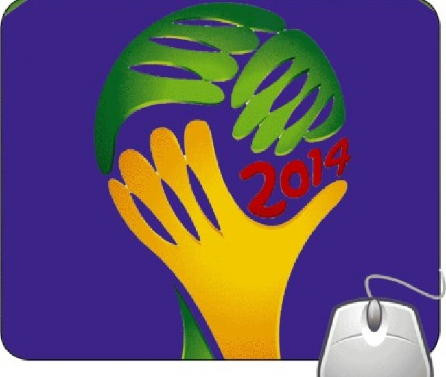 Pinaki Fifa World Cup 2014 Logo Mousepad