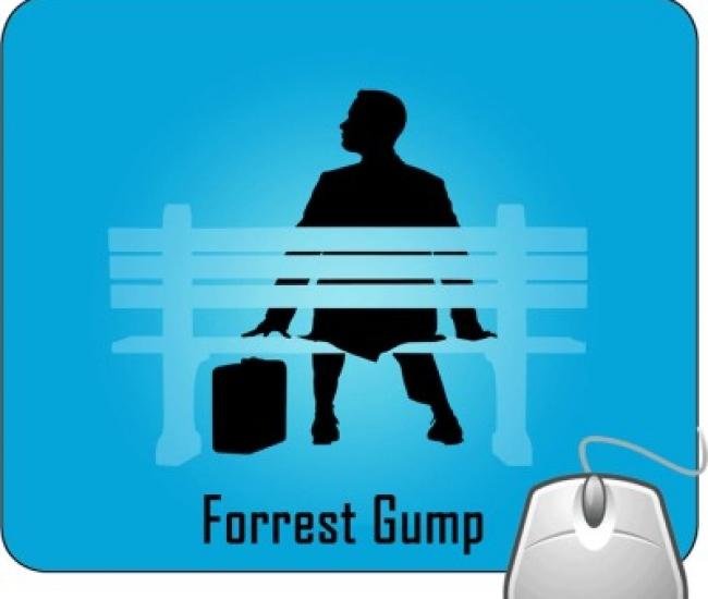 Pinaki Forrest Gump Mousepad