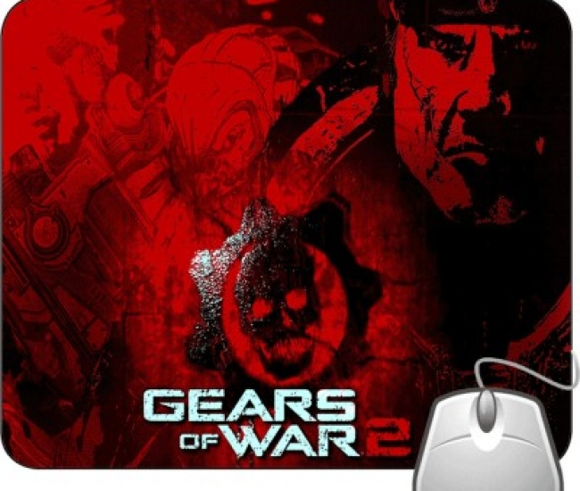Pinaki Gears of Wars 2 Mousepad