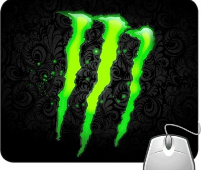Pinaki Green Monster Mousepad