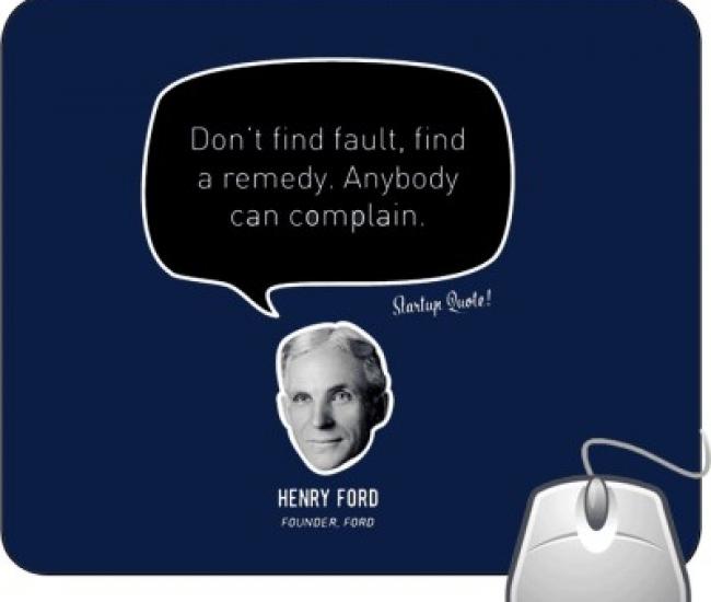 Pinaki Henry Ford Mousepad