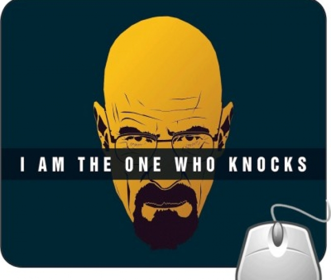 Pinaki I Am The One Who Knocks Mousepad