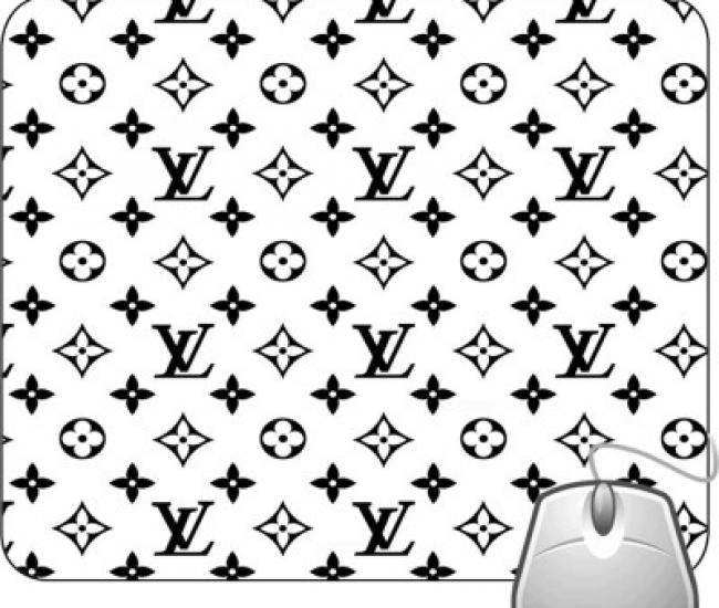Pinaki La Black And White Design Mousepad
