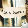Pinaki Life Is Beautiful Mousepad