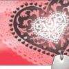 Pinaki Nice Heart Design Mousepad