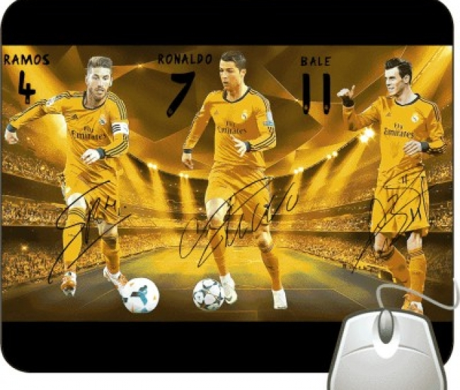 Pinaki Ramos , Ronaldo and Bale Mousepad